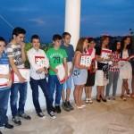 Οι μαθητές μας με τα βραβεία και τα δωράκια τους