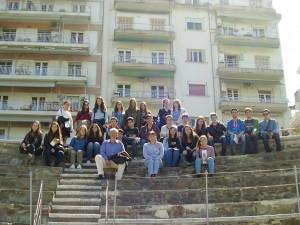 Οι μαθητές του Γ1΄ στο ωδείο.