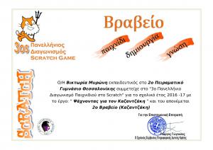 Βραβείο ανά καθηγητή - Ψάχνοντας για τον Καζαντζάκη - 2ο Βραβείο (Καζαντζάκη) - Βικτωρία Μυρώνη(1)-1